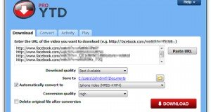screenshot YTD Video Downloader