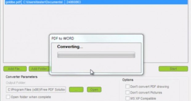 free word doc to pdf converter software