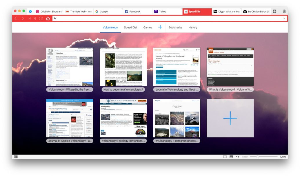 Browser Vivaldi