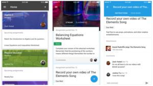 Google Classroom per iPhone