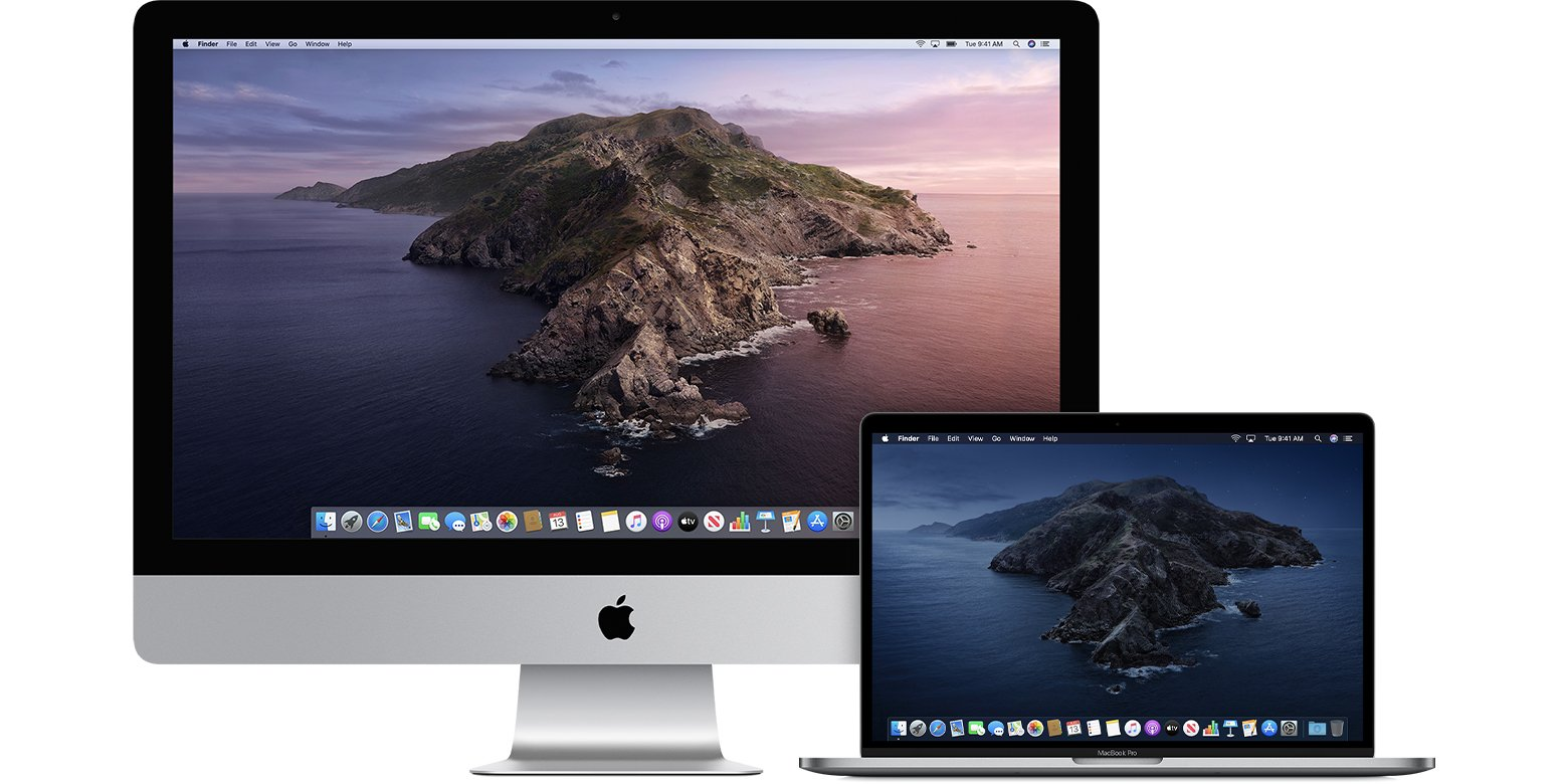 Mac OS Catalina, iPad come partner