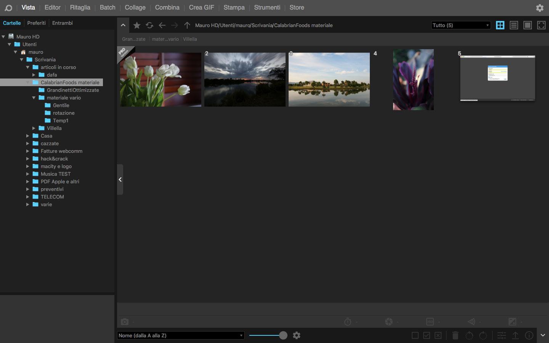 PhotoScape X per Mac